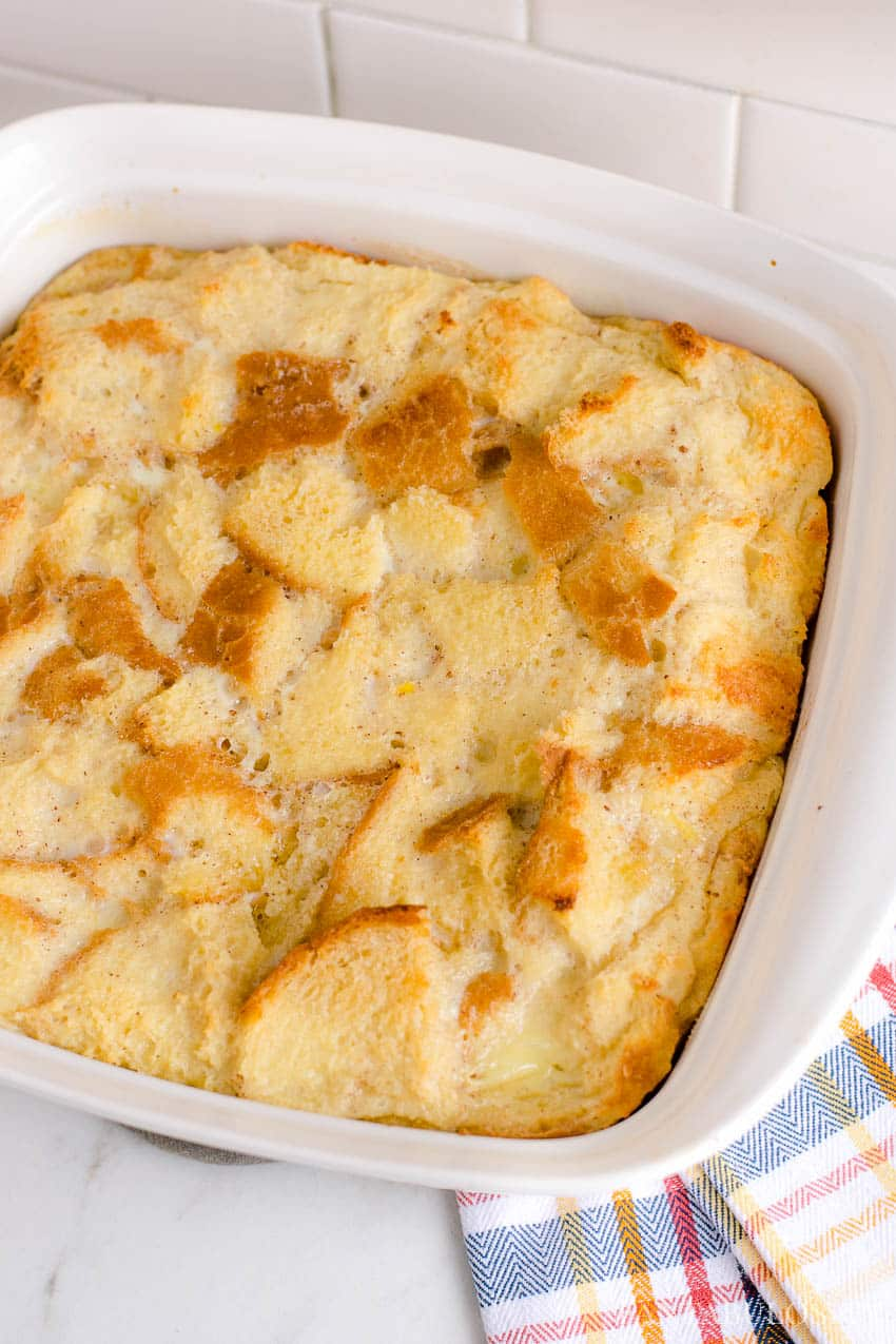 BEST bread pudding - easy and old fashioned