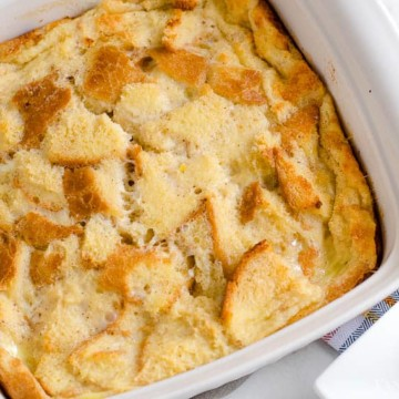 Bread Pudding Recipe - Easy and the Best!