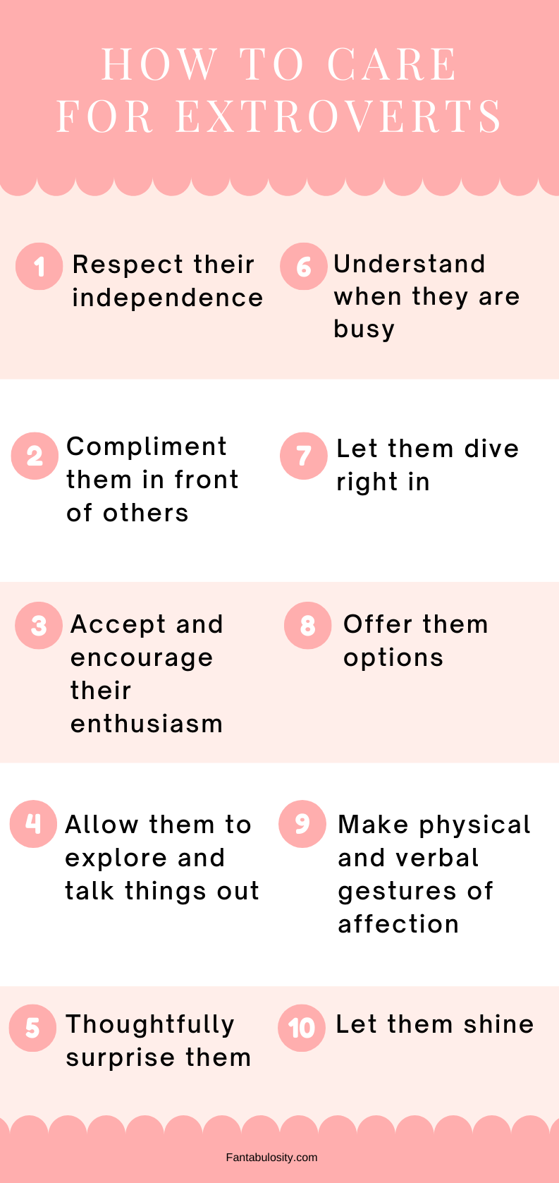 How to Care for extrovert
