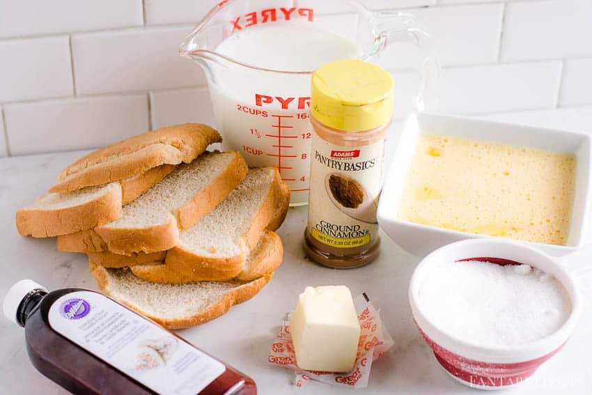 How to make bread pudding recipe