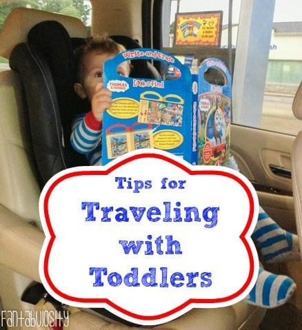 Traveling with Toddlers, label