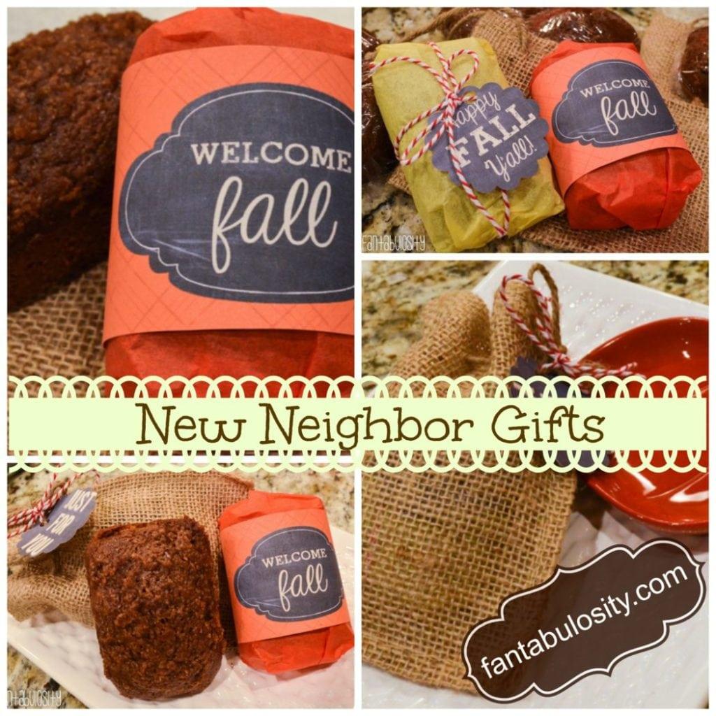 New Neighbor Gift Pumpkin Bread, https://fantabulosity.com
