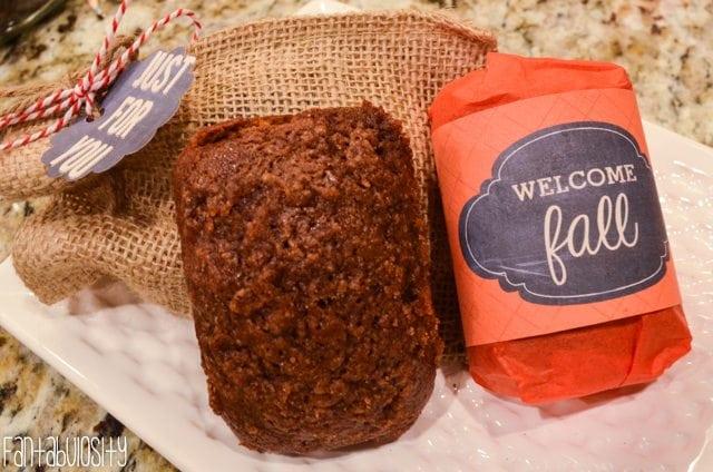Pumpkin Bread New Neighbors Gift-6