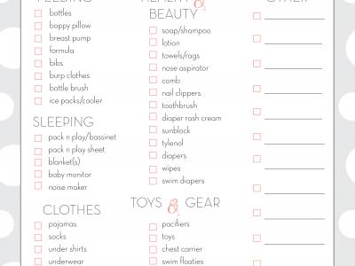 toddler travel checklist Archives - Fantabulosity