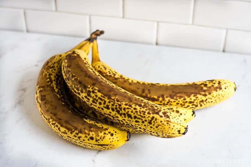 Ripe bananas recipes