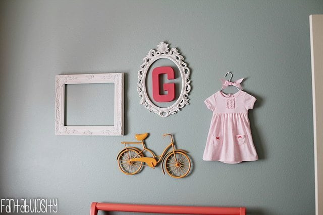 cute baby nursery ideas for little girl pink yellow gray vintage