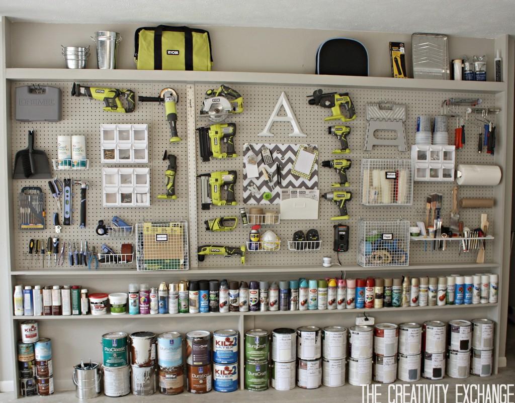 organizing garage ideas