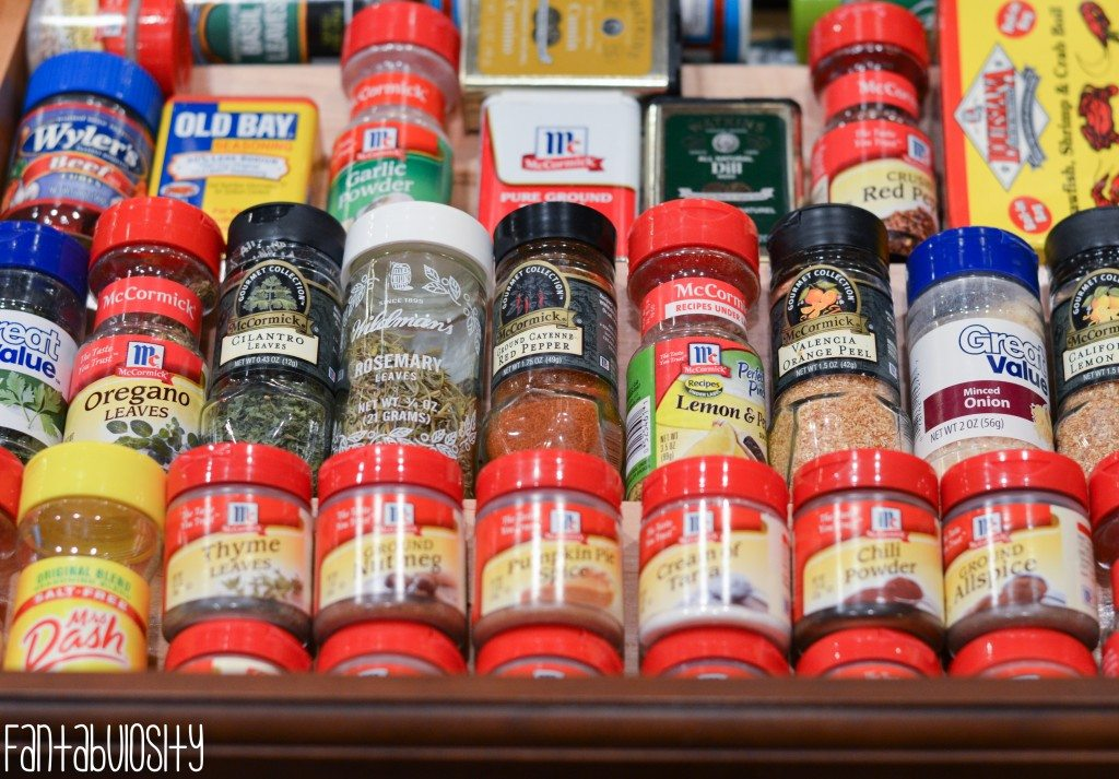 Spice Rack Organizer: Home Tour Kitchen Part 4, The Kitchen. fantabulosity.com