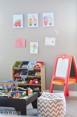 Playroom design and decor ideas, Part 5 of Home Tour https://fantabulosity.com