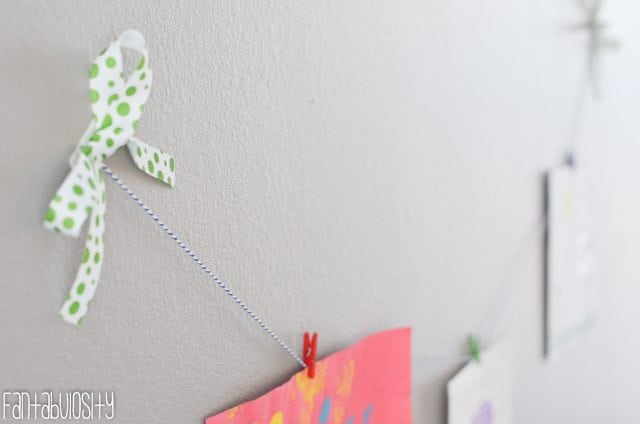 Wall Art Playroom design and decor ideas, Part 5 of Home Tour https://fantabulosity.com