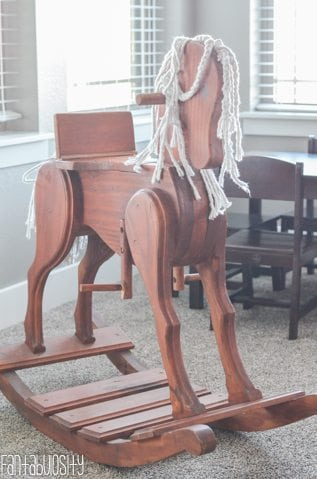 Rocking Horse Playroom design and decor ideas, Part 5 of Home Tour https://fantabulosity.com