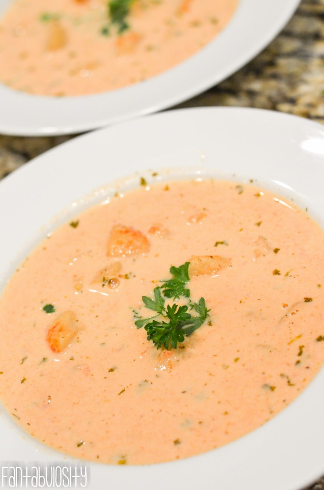 Easy Lobster Bisque Recipe - A Creamy Soup Made Easy - Fantabulosity