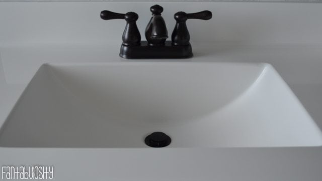 Master Bathroom Decorations and Design, Double Sink Part 3 of Home Tour https://fantabulosity.com