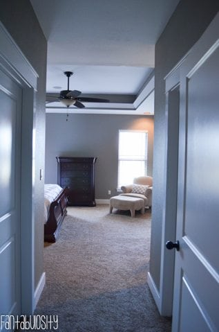 Master Bedroom Decorations, Walk between Walk-in Closets, Part 2 of Home Tour