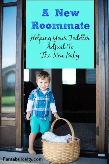 A New Roommate-Tips To Help Your Toddler Adjust To New Baby https://fantabulosity.com