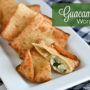 Guacamole Wontons Recipe I had no idea these were so easy!