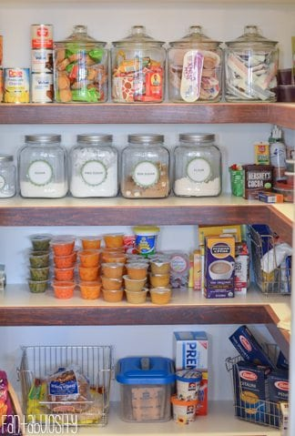 Pantry Organization - Home Tour Part 7 https://fantabulosity.com