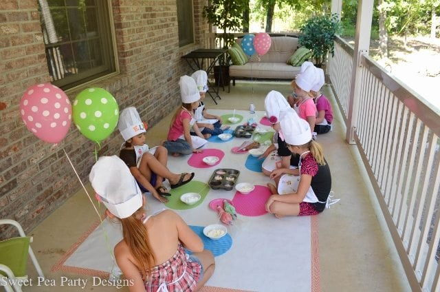 Cupcake Decorating Ideas For Birthday Party : Baking Birthday Party - Fantabulosity