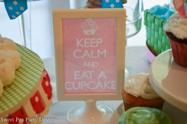 Baking Party Girl Birthday Keep Calm