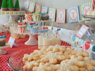 Christmas Play Date Snowmen Theme