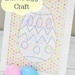 DIY Easter Egg Craft for Kids