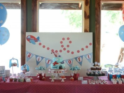 Airplane First Birthday Party Ideas