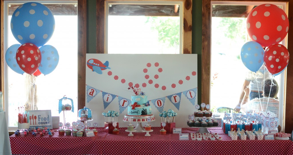 Airplane First Birthday Party - Fantabulosity