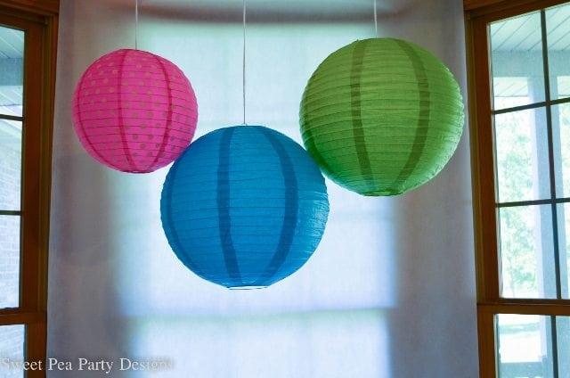 Dessert Table Lanterns