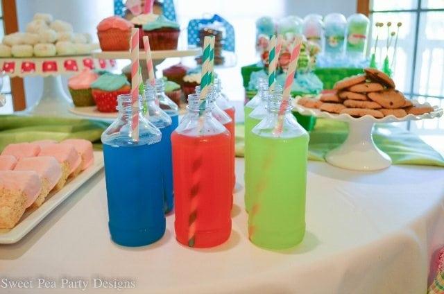 Drink Milk Bottle Juices Paper Straws