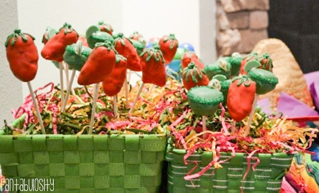 Fiesta Housewarming Party Ideas Cake Pops