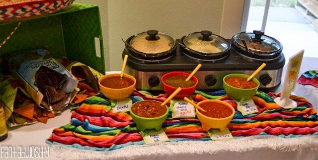 Fiesta housewarming party fantabulosity for Easy housewarming party food