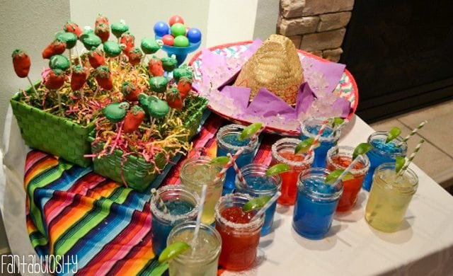 Fiesta Housewarming Party Ideas Margaritas in Mason Jars