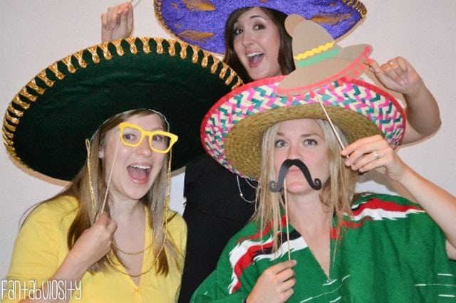 Fiesta Housewarming Party Ideas Photo Booth