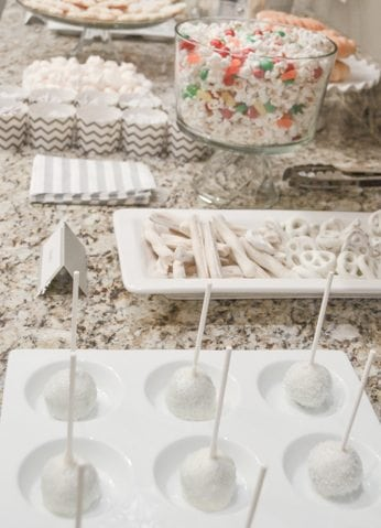 White Christmas Party Ideas Dessert Table https://fantabulosity.com
