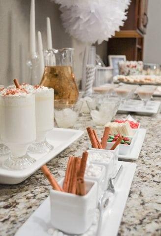 White Christmas Party Ideas- Dessert Table https://fantabulosity.com