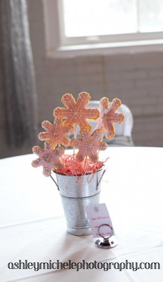Winter Onederland Cookie Bouquet Sugar Cookies Girl Birthday