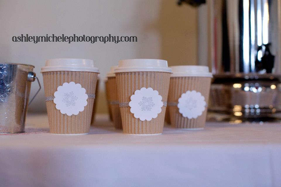 Winter Onederland First Birthday Hot Chocolate Bar