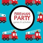 Activities for a Fireman Themed Boy Birthday Party