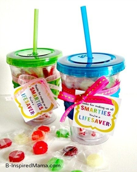 "Teacher Appreciation Gift Idea -""Smarties & Life Savers ..."