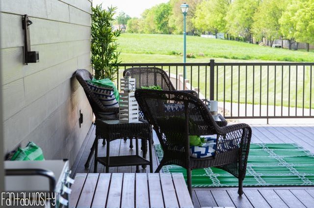 Patio deck decor home tour. Home Tour Part 8- The Patio-Deck