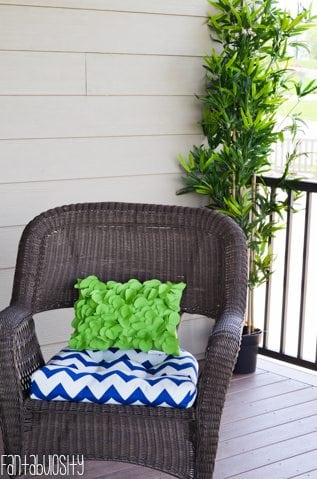 Patio deck decor home tour.Home Tour Part 8- The Patio-Deck