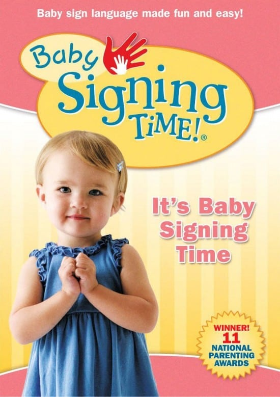 Baby Sign Language - This worked amazing for my kids! Totally get this as a baby gift for all of my friends now!