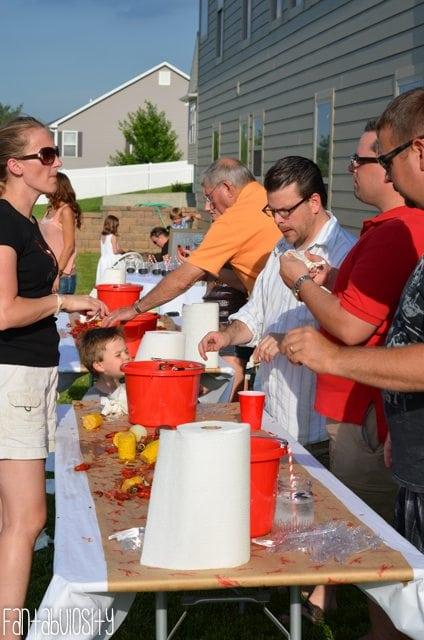 Crawfish Boil Birthday Party Ideas-18