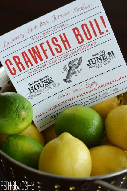 Crawfish Boil Party Ideas