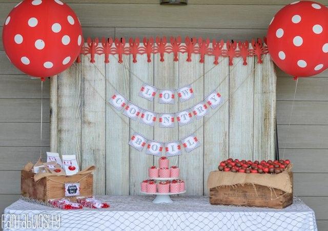 Crawfish Boil Birthday Party Ideas-4