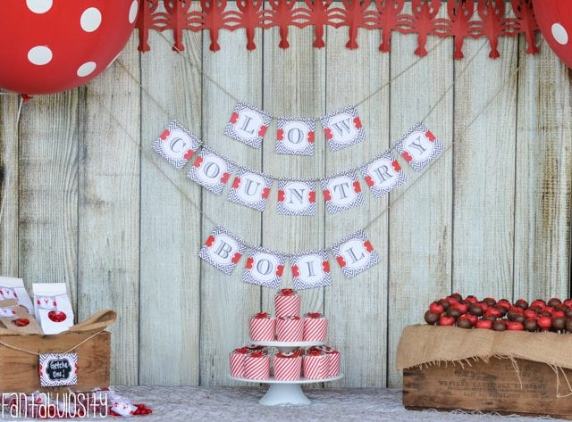 Crawfish Boil Birthday Party Ideas-5