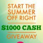 $1000 Summer Cash Giveaway