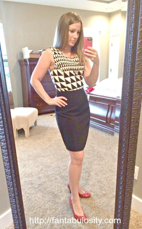 Black and White Dress! Perfect for the office or a wedding!