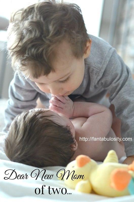 Dear New Mom of Two... https://fantabulosity.com
