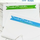 How to organize the printables for your kids! http://fantabulosity.com